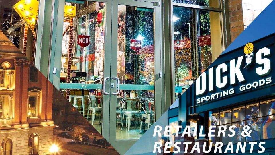 Retailers and Restaurants Report